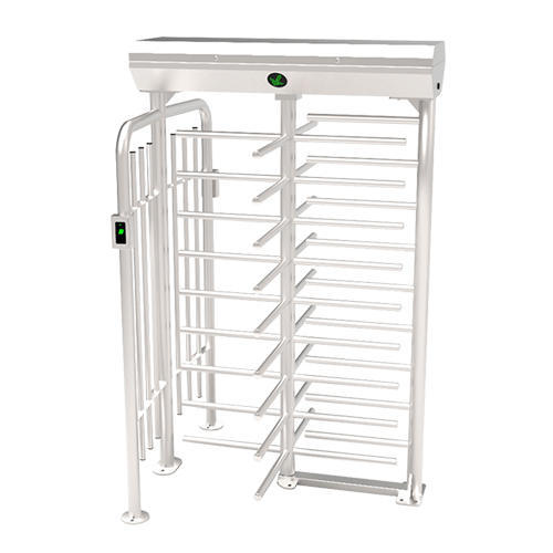 FHT2422-RFID+FP Four Arm Full Height Turnstile
