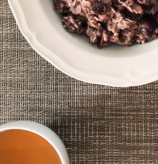 recipe: pu'er oatmeal