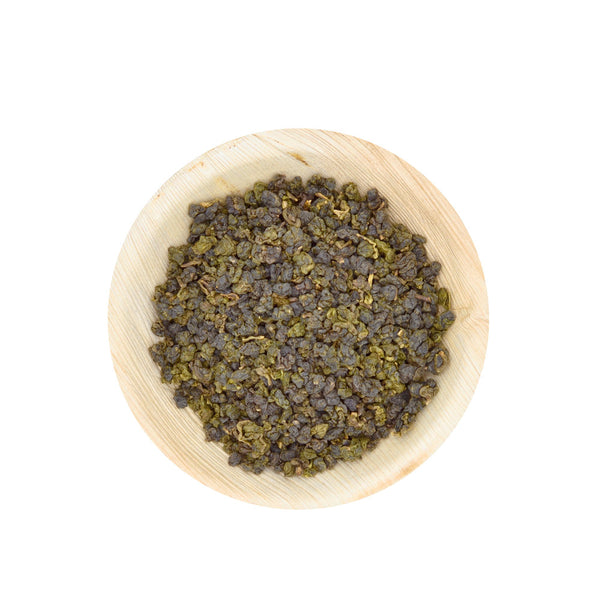 charcoal roasted yushan oolong tea