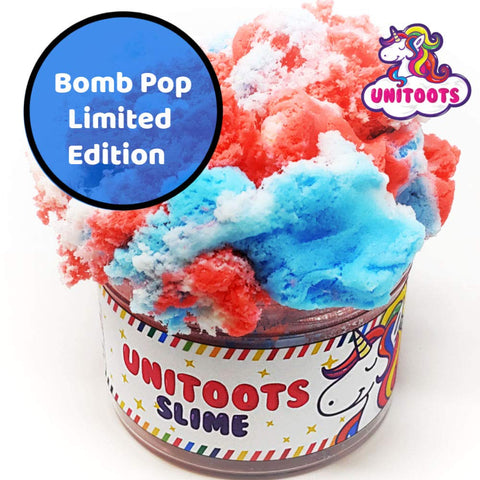 Bomb Pop Super Fluff Cloud Slime