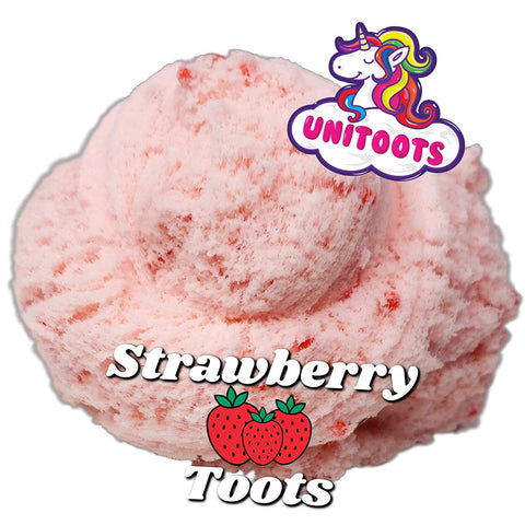 Strawberry Super Fluff Cloud Slime