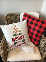 Have Yourself a Merry Christmas Tree - pillow cover