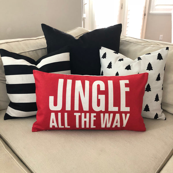 Jingle - pillow cover