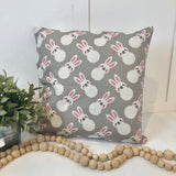 Bunny Pattern - pillow cover