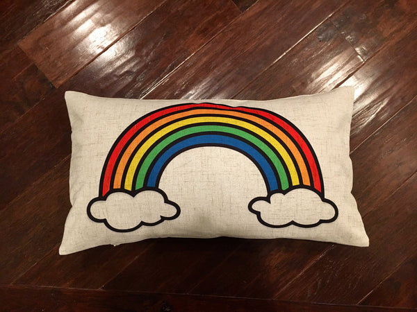 Rainbow - pillow cover