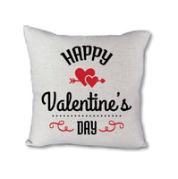 Happy Valentines Day - pillow cover