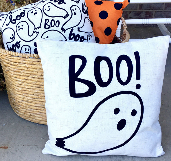 Boo Ghost - pillow cover