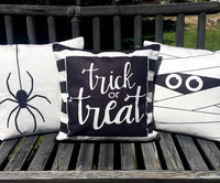 Trick or Treat Stripe - pillow cover