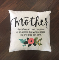 Mother's Day - pillow cover