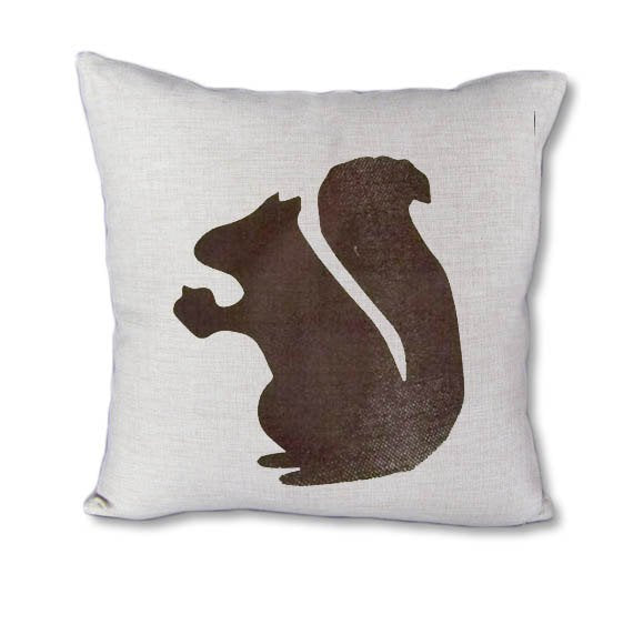 Brown Squirrel - pillow cover