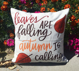 Leaves are Falling - pillow cover