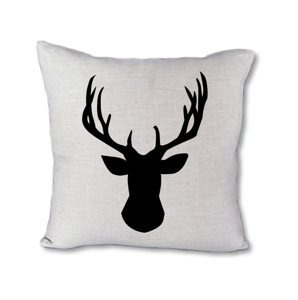 Deer Silhouette - pillow cover