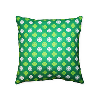 Shamrock Pattern - pillow cover