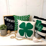Shamrock - pillow cover