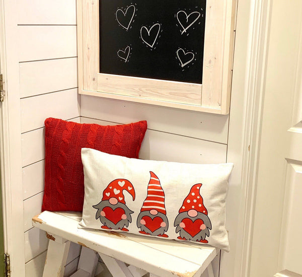 Love Gnomes - pillow cover