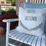 Farmhouse Hello Autumn - pillow cover
