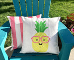 Summer Pineapple - pillow cover