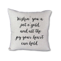 Irish Proverb - pillow cover