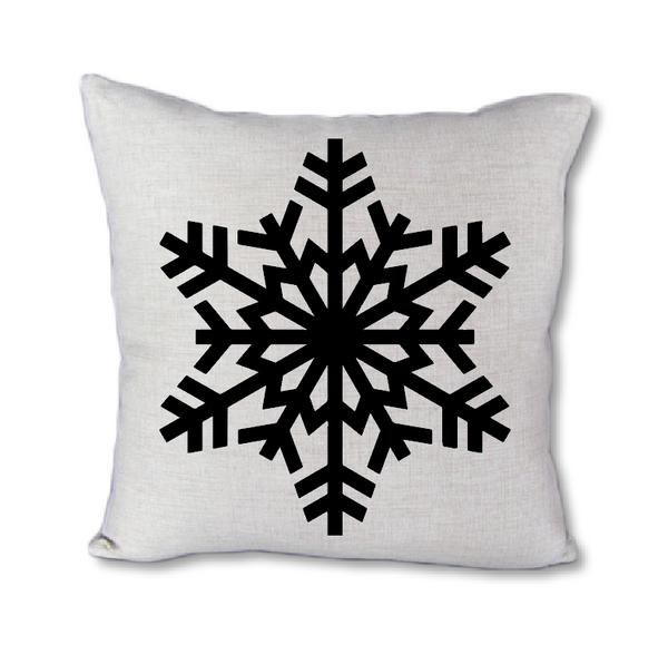Snowflake - pillow cover