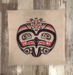 Eagle - Pacific Northwest Art - pillow cover
