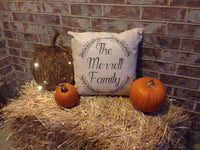 Family Branches - pillow cover