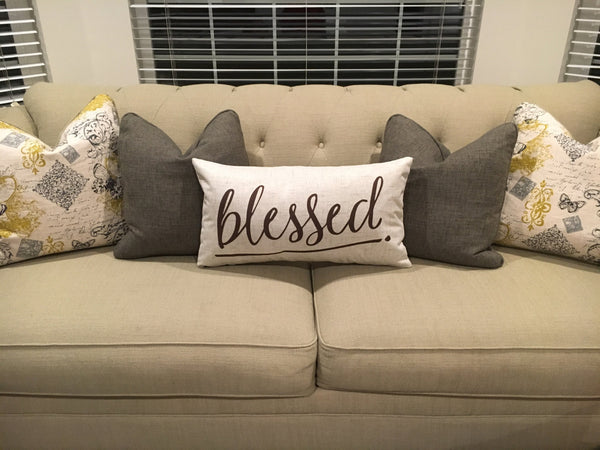 Blessed - pillow cover