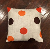 Fall Polka Dot - pillow cover