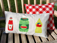 Cold Drinks and BBQ - pillow cover