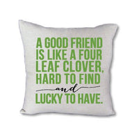 A Good Friend Proverb - pillow cover
