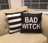 Good Witch/Bad Witch (REVERSIBLE) - pillow cover