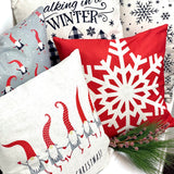 Christmas Gnomes - pillow cover