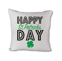 Happy St Patricks Day - pillow cover