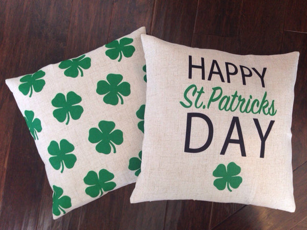 Shamrock Dots - pillow cover