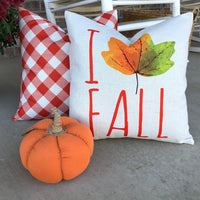I Leaf Fall - pillow cover