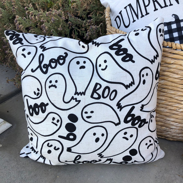 Ghost Pattern - pillow cover