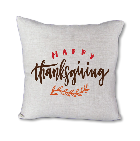 Happy Thanksgiving - pillow cover