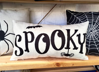 Spooky - pillow cover