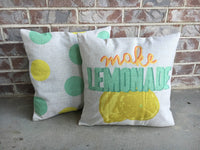 Lemonade - pillow cover