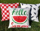 Fire Up the Grill - pillow cover