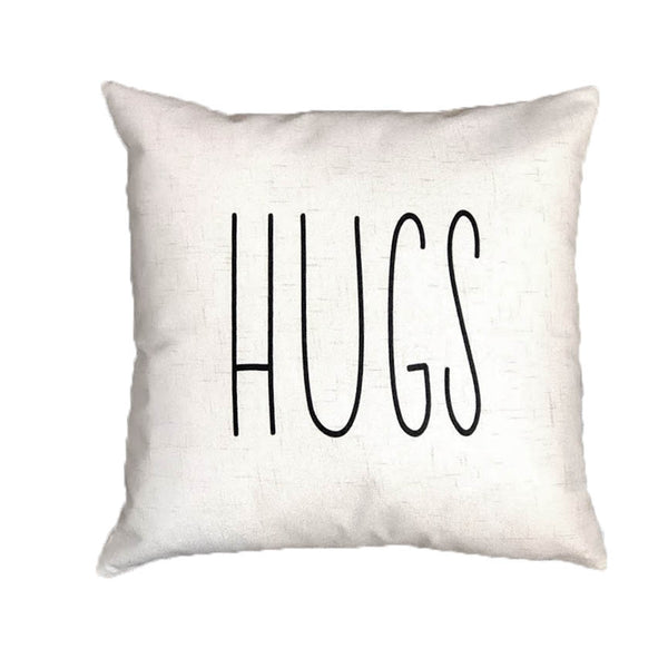HUGS - pillow cover (Rae Dunn)