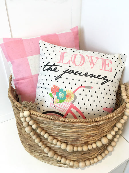 Love the Journey - pillow cover