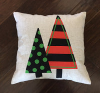 2 Trees - pillow cover