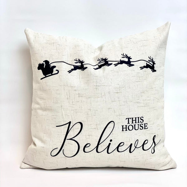 This House Believes - pillow cover