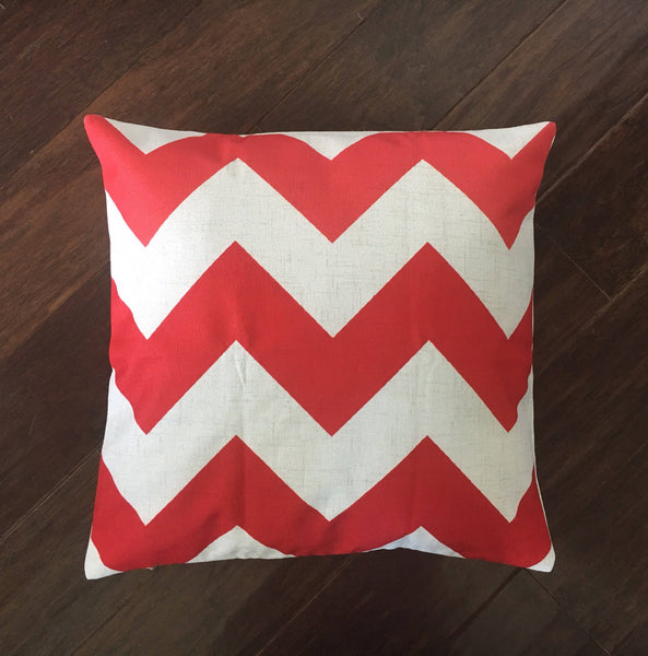 Ombre chevron - pillow cover
