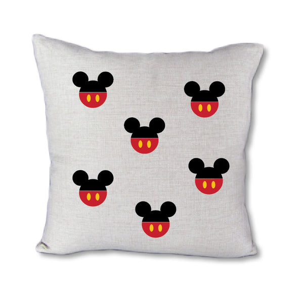 Mickey Head Dots - pillow cover