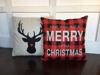 Rudolf - pillow cover