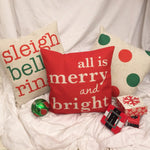 Sleigh Bells Ring - pillow cover