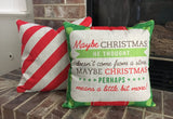 Candy Cane - pillow cover