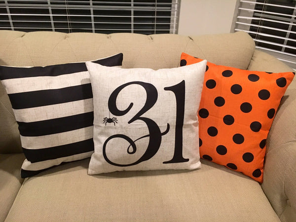 31st - pillow cover