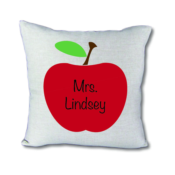Custom Teacher - pillow cover